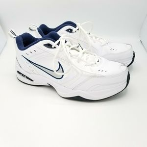 Nike Air Monarch Walking Trainers Shoes Mens White